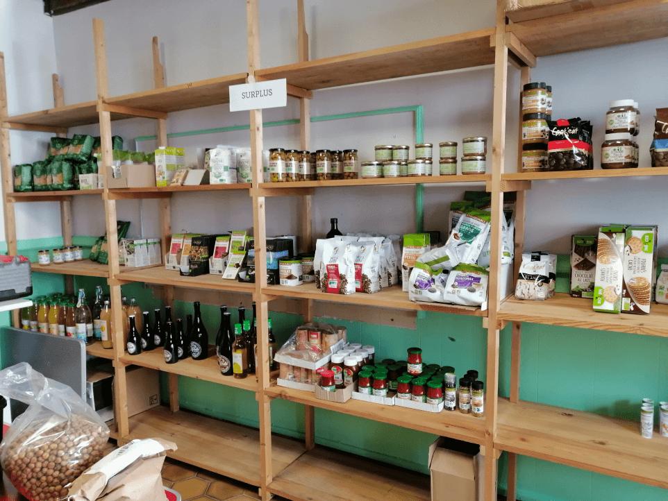 photo de l'épicerie des abeilles